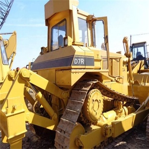 Used caterpillar manual work bulldozer d7r / cat d7 d6 d5 d4 d3 dozer with  diesel engine for sale