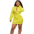 Multifunctional sexy solid color dresses women 2020 new arrivals 2 piece set clothing