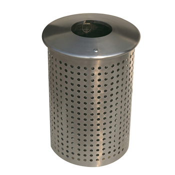 big decorative trash can stainless steel rubish bin pull out
