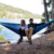 HOMFUL Popular Portable Camping Hammock Outdoor with straps pouch