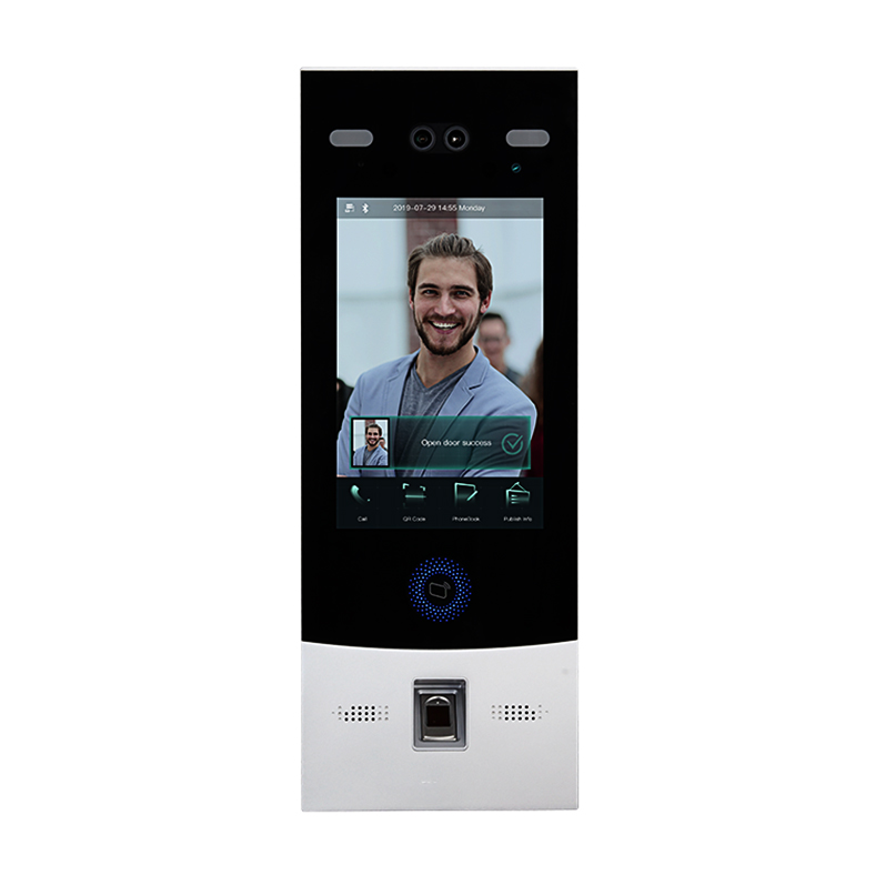 8 Inch Face Recognition Fingerprint Video Door Phone VTO7541G China Dahua Villa Apartment IP Video Intercom System