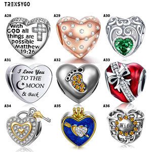 wholesale plata de ley 925 sterling silver designer charms for bracelet making diy jewelry making charms fit for pandoras