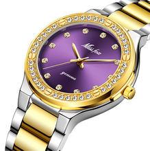 Элегантные женские часы MISSFOX, японские водонепроницаемые аналоговые кварцевые часы Movt 30 м(China)