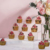 Tre Step Cup Cake Display Stand Riser, Acrilico Dessert Display Riser Set