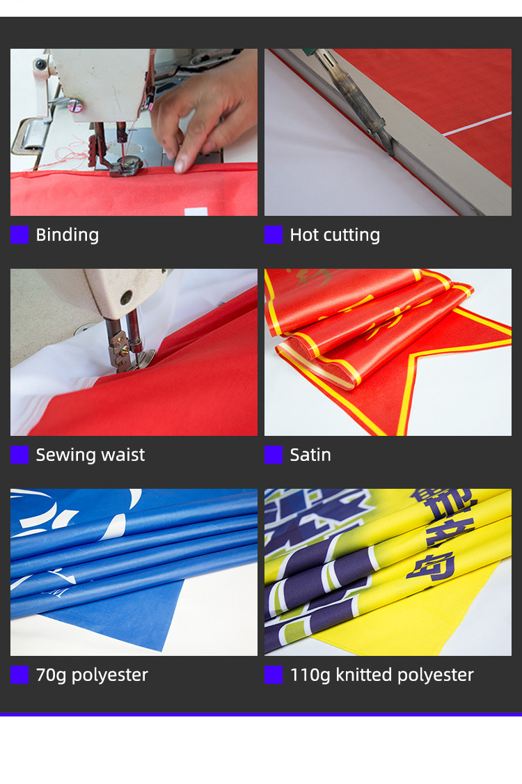 China Fabrik Angepasst Alle Land Flagge Polyester Material Nationalen Land Hand Flagge