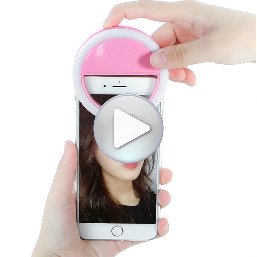 Amazon hot sale Beauty Portable pink mini photo Studio fill light makeup Photographic light live webcast selfie led Ring Light