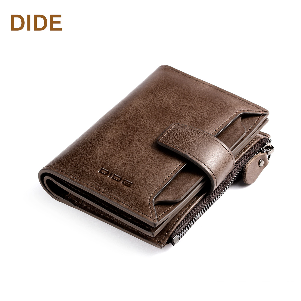 Men's Short type Genuine leather Bifold <strong>wallet</strong> Coin purse <strong>wallet</strong> to hold many cards and coins