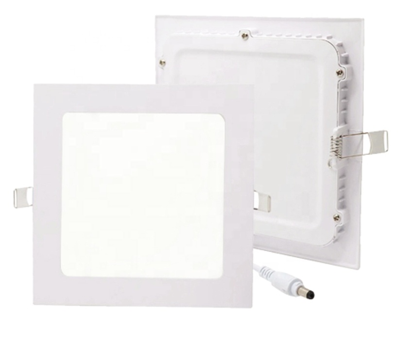 9W SMD2835 Round Square Ultra Slim Led Recessed Panel Light Down Light with CE RoHs