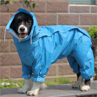 High Quality Pet Raincoat For Dogs Small, Medium And Large Dog Four-Legged Pet Suit Reflective Raincoat For Pets