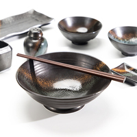 Modern China Ware Japanese Dining Set, Hot Selling Hotel Collection Japanese Style Dinnerware, Ceramic Ramen Bowl^