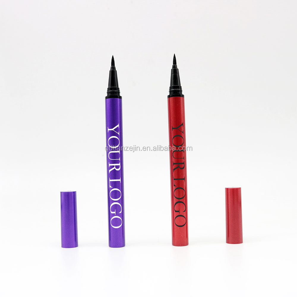 The highest quality waterproof Durable and extremely fine Colored eyeliner glue NO MOQ factory wholesale customize private label