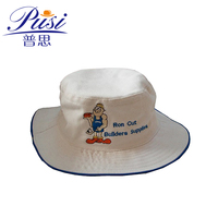 Get free sample delivery within 15 days Wholesale Custom Cotton Twill fisherman embroidery logo Bucket Hat