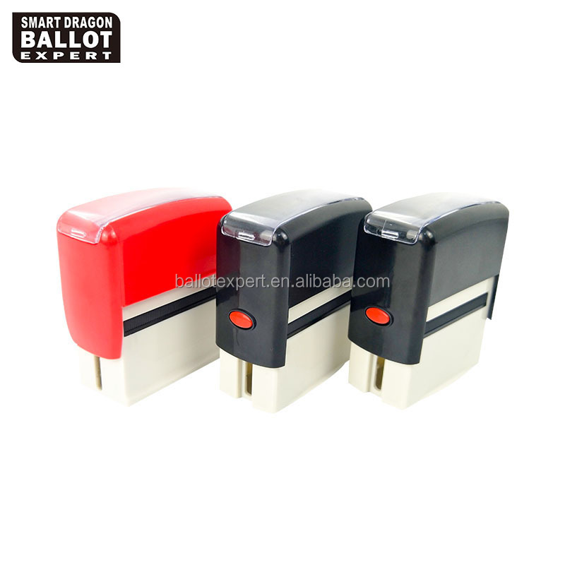 Hot Sale Different Sizes Rectangle Self-Inking Rubber Stamp For Zambian Elections