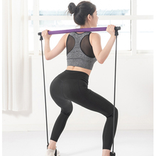 Ausgestattete Shivom Körper Workout <span class=keywords><strong>Pilates</strong></span> Stick Mit Widerstand Band, Eco Freundliche Nach Hause Tragbare Multifunktions Widerstand <span class=keywords><strong>Bar</strong></span>