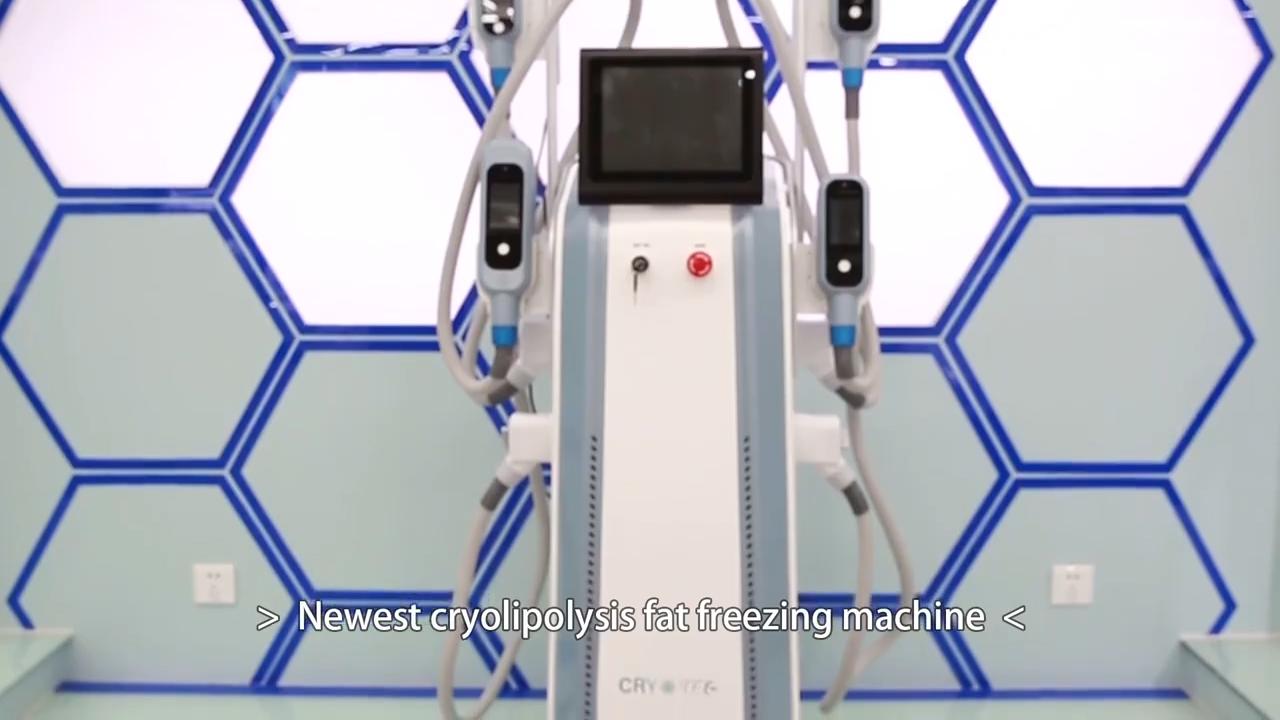 Cryotherapy Devices Pads Lipolysis Slimming Medical Cryogenic Equipments Lipo Cryo Facial Machine