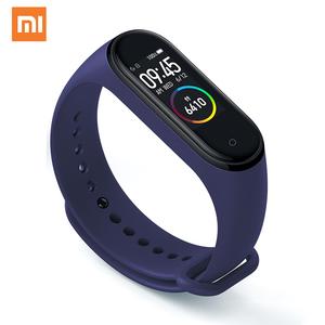 Original Xiaomi Mi Smart Band 3/4 Strap Silicone Rubber Watch Bands Smart Watch Strap for Xiaomi MI Band 3 Band 4
