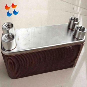 High quality stainless steel brazed plate heat exchanger for beer brewing equipments