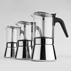 Food Grade 304 Stainless Steel Commercial Mini Espresso Machine Coffee Makers