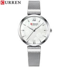 CURREN 2020 новые часы, наручные часы с механизмом, роскошные и элегантные часы de cuarzo para mujer reloj de pulsera де inoxidable para mujer(Китай)