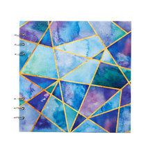 Блокнот с листочками для рисования, бумажный альбом, 40 листов, ручная краска, цветная бумага для рисования, товары для рукоделия(Китай)