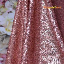 Royaltime Мерцающая Ткань с золотыми блестками цвета шампанского по двору двухсторонняя эластичная вышитая сетка африканская кружевная ткань ...(Китай)