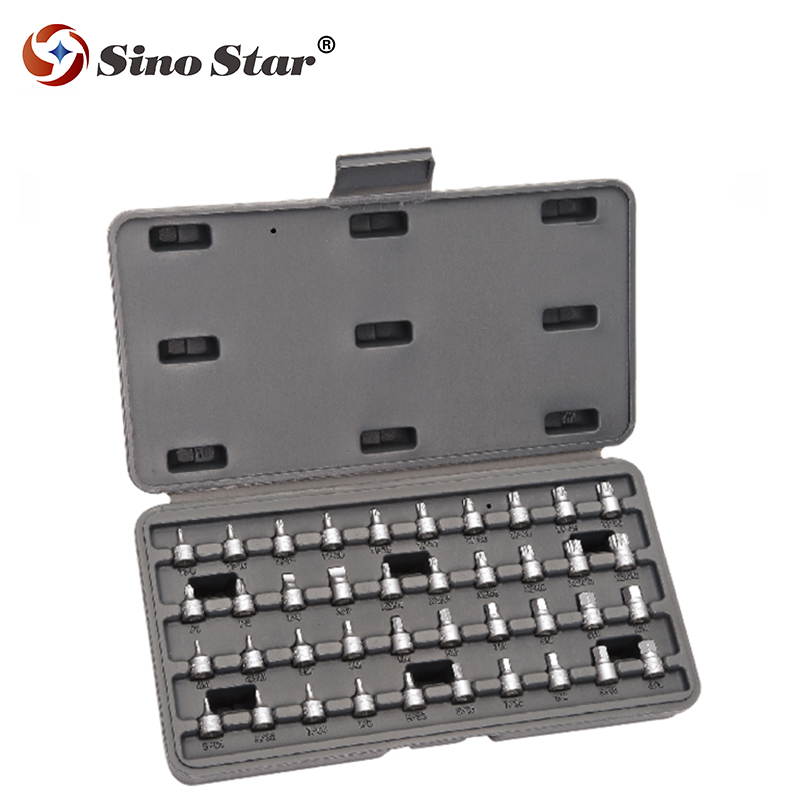 40pcs RAPIDE SOCKET SET CAR GARAGE DRIVER CASE TOOL KIT DRIVE NEW 40PCS PIECES