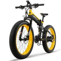 26x4.0 inch 1000W snow fat tire e bicycle/foldable fat electric bike with 48V 13AH Lithium Battery for Adult