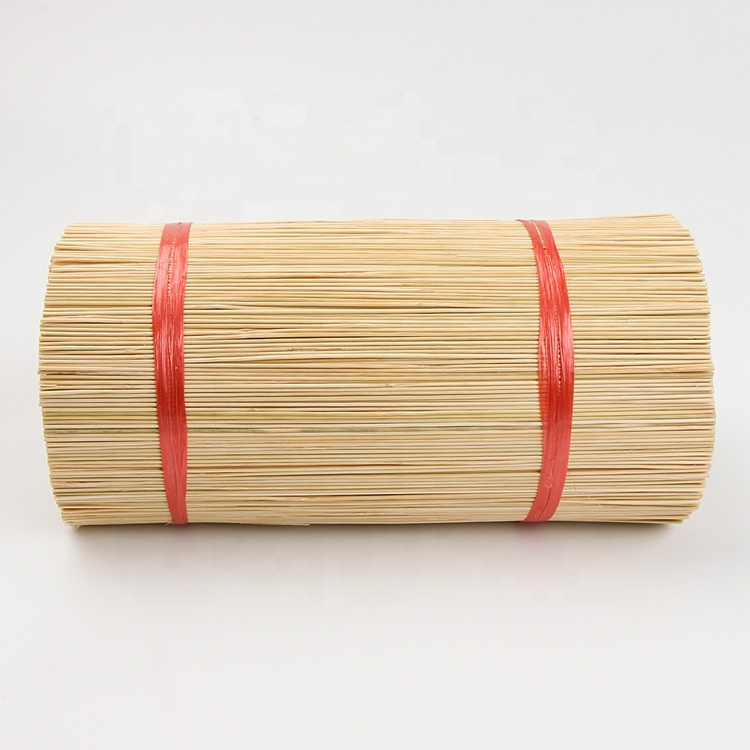 round  stick for making  incense long agarbatti bamboo sticks