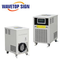 WaveTopSign CW-5000 CW-5200 220V <span class=keywords><strong>CO2</strong></span> <span class=keywords><strong>แก้ว</strong></span>หลอดเลเซอร์ <span class=keywords><strong>Chiller</strong></span>