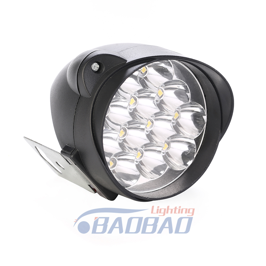 inch harley motorcycle led headlight with led angel eyes with high low beam with black or chrome color