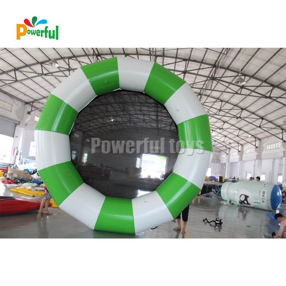 Trampoline jumping round mat for sport games