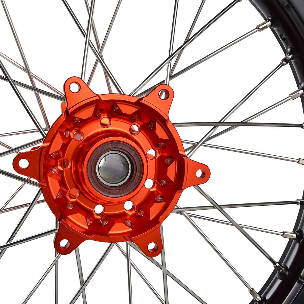 "NiceCNC punto 21 ""+ 19"" de rueda de borde para KTM 250 XC-F 2012-2019, 300 XC 2006-2019 de 250 EXC F 2017-2019"