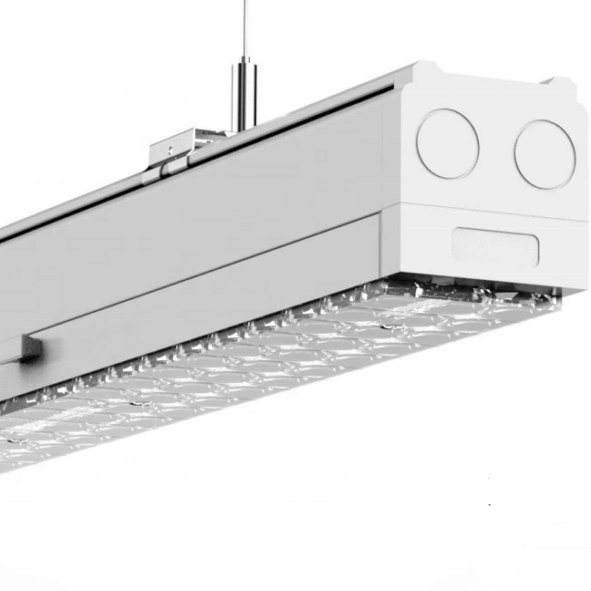 LED project light with IP54  Aluminum profile led linear trunking lighting system led linear light 68w-72w with big brand driver