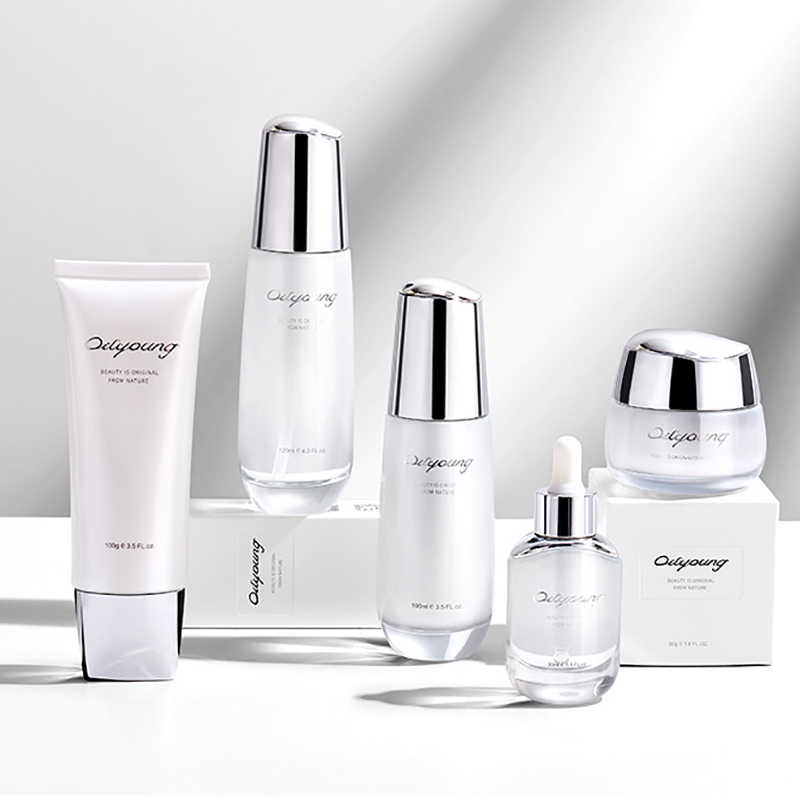 Nieuwe Collectie Professionele Private Label Anti Aging Crème Whitening Huidverzorging Set
