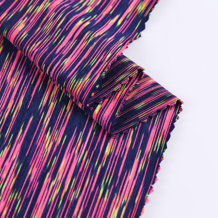 Bán buôn giá rẻ miễn phí mẫu mềm mới thiết kế polyester interlock vải dệt kim