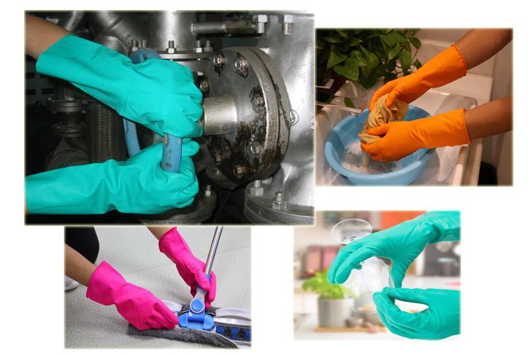 उच्च गुणवत्ता हरी Nitrile लेटेक्स दस्ताने सूई बनाने की मशीन निर्माताओं