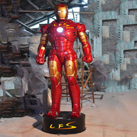Movie Statue Life Size Fiberglass Iron Man Statue For Sale