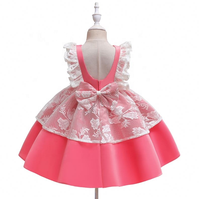 New Arrival Hot Sale Designer One Piece <strong>Girls</strong> Party Dresses, <strong>Fashionable</strong> <strong>Kid</strong> <strong>Girls</strong> 4- 7 Printed Hearts Skater Dress