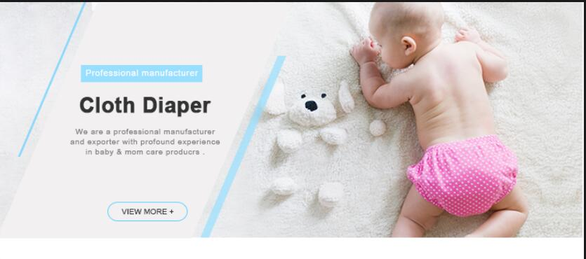 Attractive Price High Quality  White 100% cotton Washable Cloth Diaper Insert