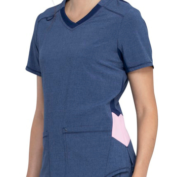 Wholesale Limited Edition Antimicrobial Stretchy Cotton Women's nurse Scrubs top