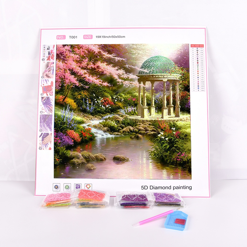 5d DIY Patterns Diamond Embroidery Rhinestone Painting Kits for Adults