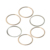 Din 2*4*0.5 China cheap Custom doors and windows flat washer  graphite ring washers