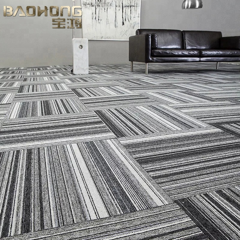 China factory directly sale PVC backing milliken carpet tiles for hotel
