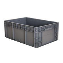 600*400*340mm plastic  heavy duty storage totes plastic boxes container storage