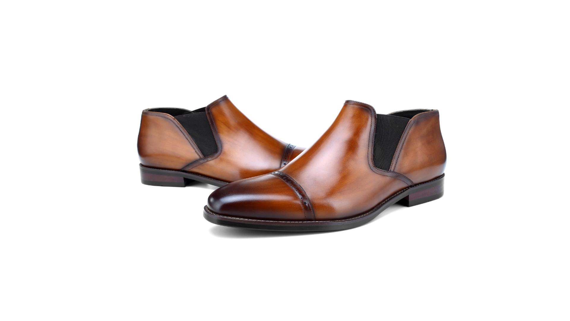 2020 Цена по прейскуранту завода; Новый дизайн; Повседневные ботильоны из гладкой кожи; Мужские зимние ботинки из натуральной кожи
