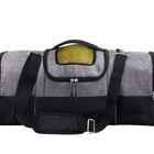 Large Soccer Backpack with Ball Compartment Sports Duffel Bag Gym Gear Tote Bag