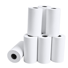 Packaging Customization [ Paper Bank ] Paper Roll Thermal Hot Sale Colorful Thermal Paper Roll With Words Or Logo Printing Bank Check Paper110mmx50mm Thermal Paper Rolls