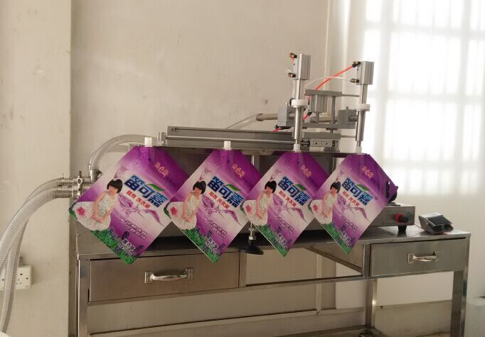 KA PACKING Stand-up bag Filling Production /Factory Semi Automatic e liquid Filling Machine Eyedrop Filling Machine