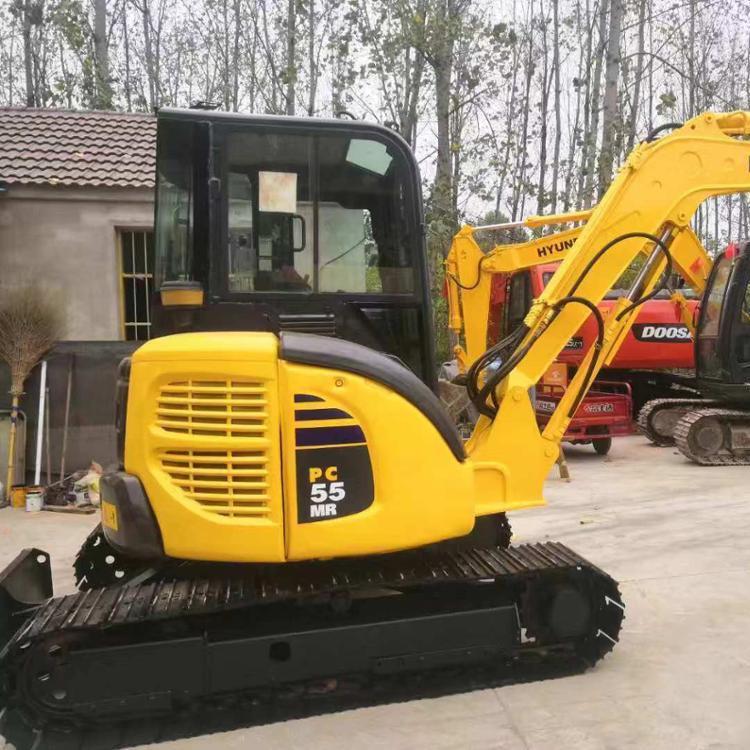 Good Quality Used komatsu mini excavator pc55 / very nice komatsu pc55 pc50 pc40 mini excavator digger for sale
