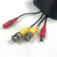 Security CCTV Cable BNC Video CCTV Camera Power Cable For Surveillance Camera in stock